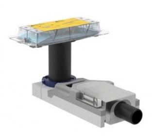 Souprava pro hrubou montáž pro sprchový žlab CleanLine GE